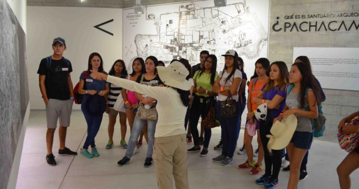 museos en Lima - Pachacamac