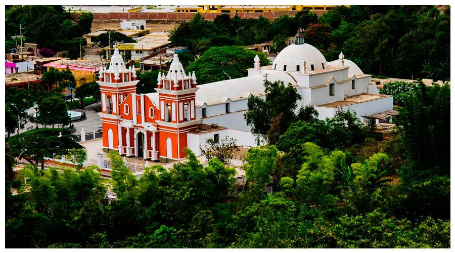 Iglesia Matriz Santiago Apóstol - Lunahuaná - Fuente Municipalidad de Lunahuaná